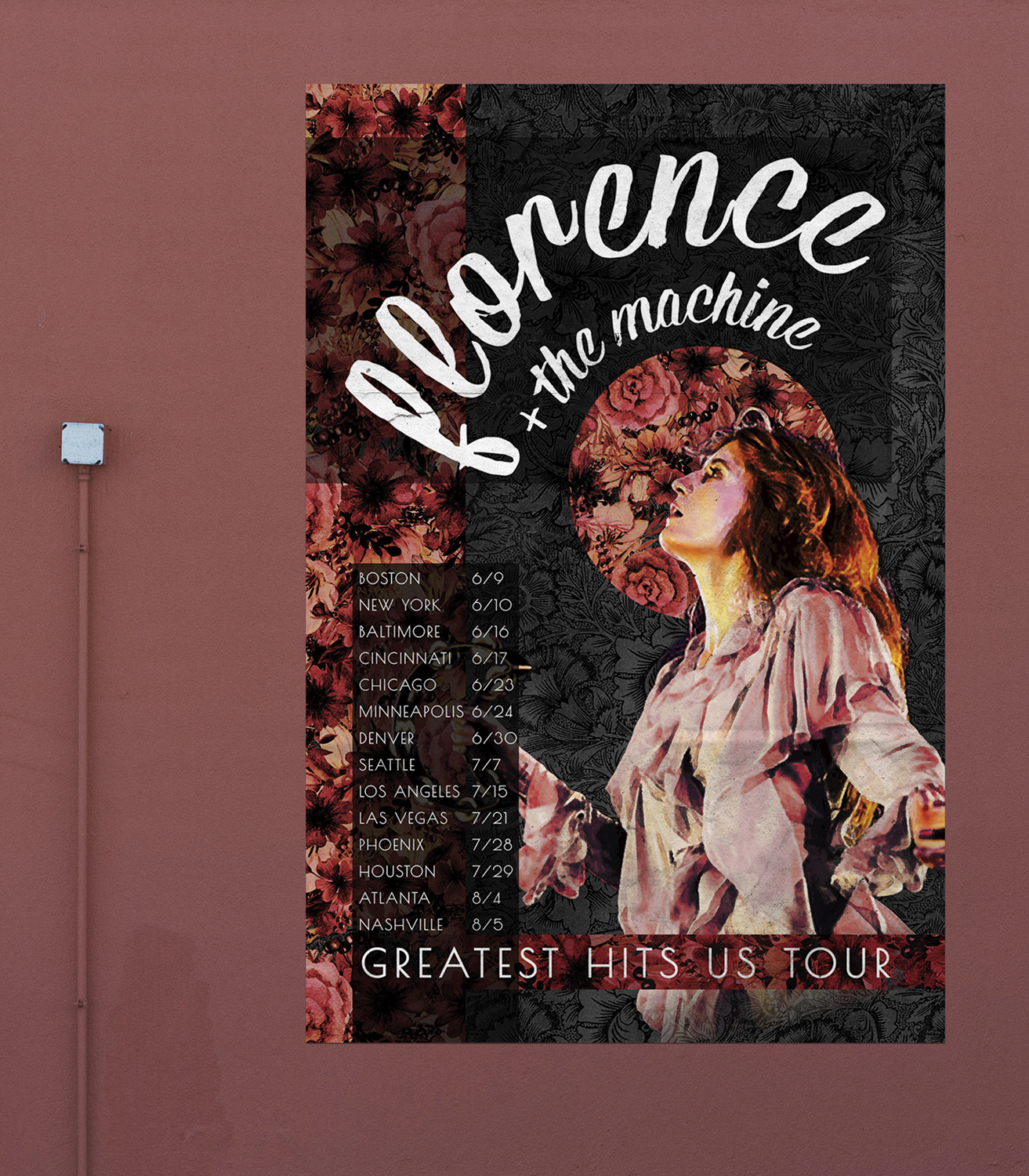 Florence + the Machine Tour Poster